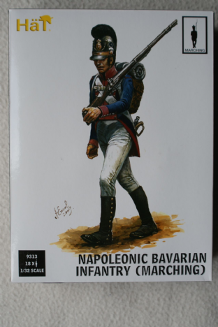 HaT 1/32 HAT9313 Bavarian Infantry Marching (Napoleonic)